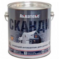 Антисептик Акватекс Сканди C полуматовый 2,5 л для стен, фасадов, беседок
