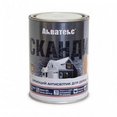 Антисептик Акватекс Сканди айсберг полуматовый 0,75 л для стен, фасадов, беседок