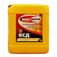 Огнебиозащитный состав Woodmaster Ксд бесцветный 10 кг для перекрытий