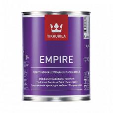 Краска Tikkurila Empire База A полуматовая 0,9 л для мебели, дверей, радиаторов