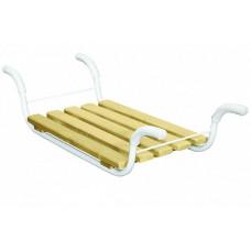Сиденье в ванну классик металлич. каркас, 5- реечное сиденье