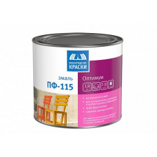 Эмаль Ленинградские краски Оптимум ПФ-115 светло-серая глянцевая 1,9 кг для металла