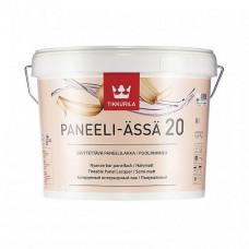 Лак Tikkurila Paneeli-Assa 20 EP полуматовый 2,7 л для панельных стен и потолков