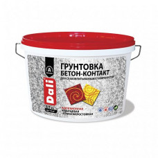 Грунтовка Dali Бетон-контакт розовая 3,5 кг для стен и потолка