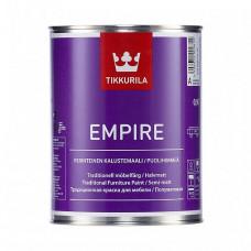 Краска Tikkurila Empire База C полуматовая 0,9 л для мебели, дверей, радиаторов