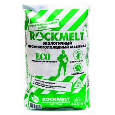 Антигололед Rockmelt eco 20 кг двойного действия с мраморн. крошкой