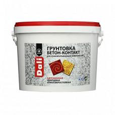 Грунтовка Dali Бетон-контакт розовая 6 кг для стен и потолка