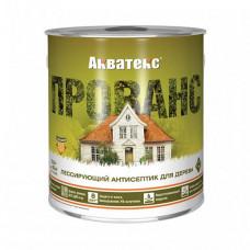 Антисептик Акватекс Прованс белый полуматовый 2,5 л для фасада, садовых строений