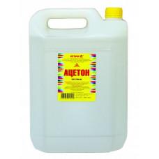 Ацетон Ясхим 10 л для растворения природных смол, масел, диацетата целлюлозы