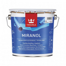 Эмаль Tikkurila Miranol A высокоглянцевая 2,7 л для мебели, дверей, оконных рам