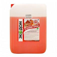 Огнебиозащитный пропиточный состав Экодом ОгнебиоПроф малиново-красный 11 кг