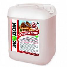 Огнебиозащитный пропиточный состав Экодом ОгнебиоПроф малиново-красный 5 кг
