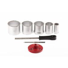 Набор коронок по керамической плитке 33-83 MATRIX